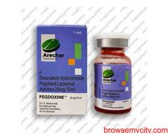 Doxorubicin pegylated liposomal injection in India