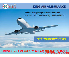 Take Superior Air Ambulance Service in Chandigarh-King Air Ambulance