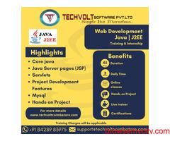 Online Internship | JAVA | J2EE  | Techvolt Software | Coimbatore