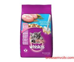 Buy Whiskas Junior Ocean Fish Dry Kitten Food (3 KG), at Best Price in India
