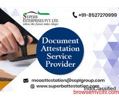 Birth Certificate Apostille Services in India