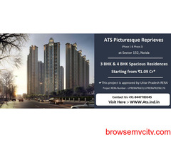ATS Picturesque Reprieves Sector 152, Noida   Live In Tune With Nature