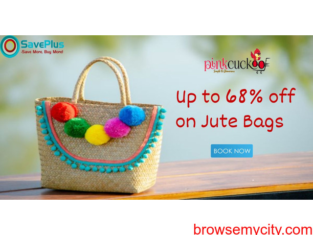 Up to 68% off Jute Bags - 1/1