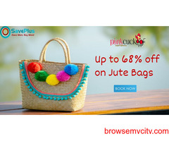 Up to 68% off Jute Bags