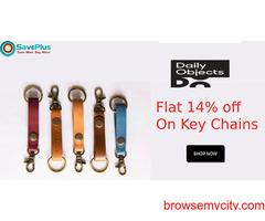 Flat 14% Off Key Chains