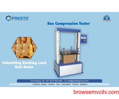 Box Compression Tester Manufacturers in Delhi