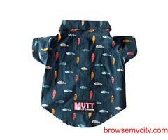 Buy Mutt of Course Fishes in the Sea Cat Shirt (L), at Best Price In India