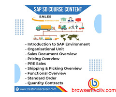 SAP Sales and Distribution | Learn SAP SD Online | SAP SD Module