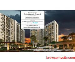 Godrej Woods Phase 2 Sector 43 Noida   Lavish Sit-outs & Relaxed Living
