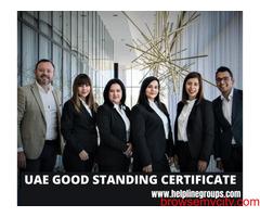 UAE Good Standing Certificate