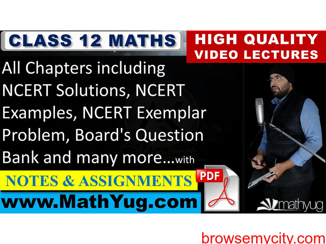 Class 12 Maths - 1/2