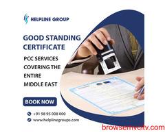 Good Standing Certificate Qatar