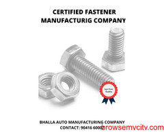 High tensile bolts manufacturers in india - bhalla Fasteners