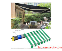 Get Quick Protection from Extreme Weather with Motorized Awnings