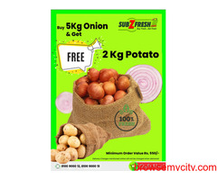 SubZfresh | Online Fresh Vegetables Panchkula | Buy Fresh Fruits Online Chandigarh