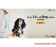 4PetNeeds Coupons, Deals : Up to 13% off dog collars leashes