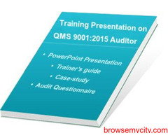 Online ISO 9001:2015 Auditor Training E-learning Course
