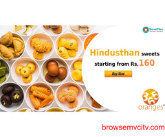 365oranges Coupons, Deals : Hindusthan sweets starting from Rs.160