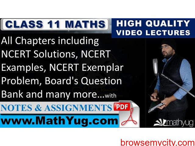 Class 11 Maths - 1/1