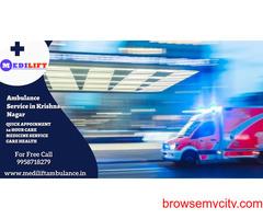 Best Care Ambulance Services in Krishna Nagar by Medilift Ambulance