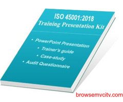 Online ISO 45001:2018 Awareness & Auditor Training E-learning Course