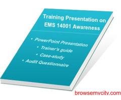 Online ISO 14001:2015 - EMS Awareness & Auditor Training
