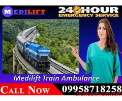 Medilift provides the Best Emergency Train Ambulance in Bangalore