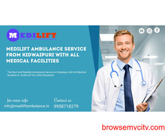 Best Care Ambulance Services in Kidwaipuri by Medilift Ambulance