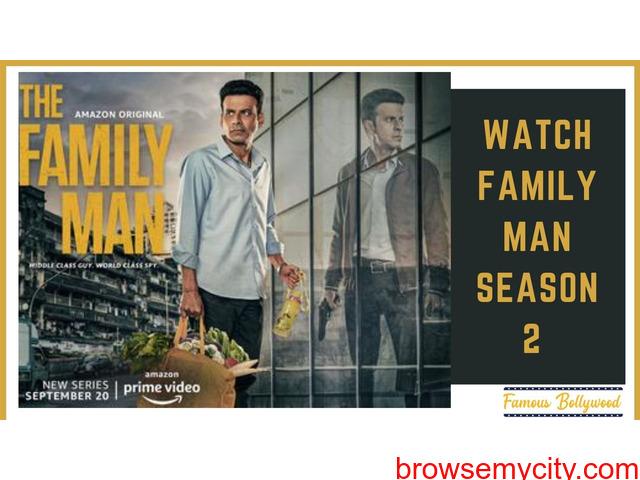 Watch Latest Web Series The Family Man Season 2 - 1/1