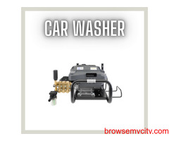 Our car washer can be used in commercial and domestic places