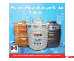 Best Plastic Water Storage Tanks Manufacturers Solution