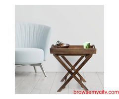 Buy tray table online - Badhai décor
