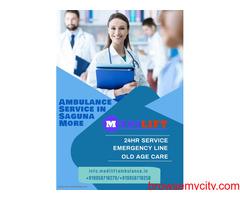 Dependable Ambulance Service in Saguna More by Medilift Ambulance