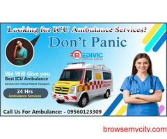 Praiseworthy Ambulance Service in Adarsh Nagar by Medilift.