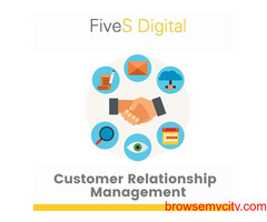Boost your business with CRM software- FiveS Digital