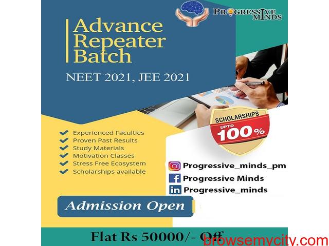 Best NEET Coaching Centers and Classes in East Delhi | Progressive Minds - 1/1