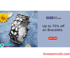 Up to 75% to 88% off Bracelets