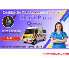 Cost friendly Ambulance Service in Purnia by Medilift