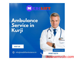 Quick Response Ambulance Service in Kurji by Medilift Ambulance Service