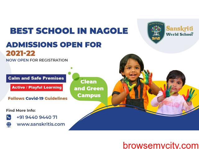 Best Schools in Hyderabad - 1/3