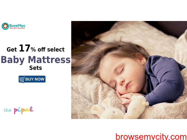 ThePipal Coupons, Deals & Offers: Get 17% off select Baby Mattress Sets - 1/1