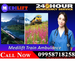 Get Medilift Train Ambulance Facilities in Patna for Emergency Services