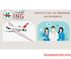 King Air Ambulance Service in Indore with All Reliable Care