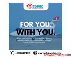 Book Medivic Air Ambulance Service in Mumbai at an Economical Fare