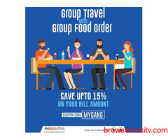 Party With Gang In Train !!  Visit RailMitra and Get Excited Discount