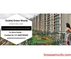 Godrej Green Woods Ashok Vihar Delhi - A Limelight Lifestyle Project