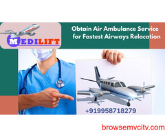 Avail the Medilift Air Ambulance Service in Hyderabad at Affordable Fare