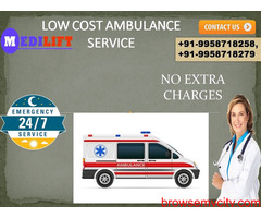 Cost friendly Ambulance Service in Nehru Place by Medilift