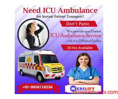 Quick Ambulance Service in Mayur Vihar by Medilift