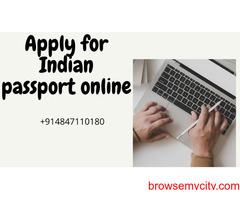 apply for indian passport in india